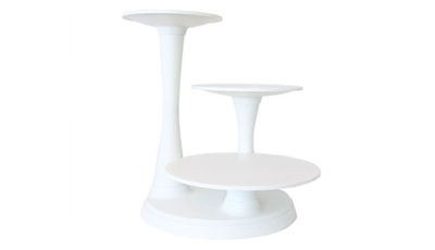 Inch Acrylic Tiered Cake Stand Plates