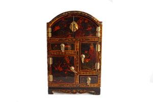 PG051 Vintage Oriental Cabinet ...